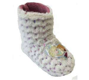 Disney Frozen Fur Trimmed Slipper Boot size 8 and size 9 only now £2.49 from £9.99 at Argos free C&C - would go with the PJs and Dressing gown set