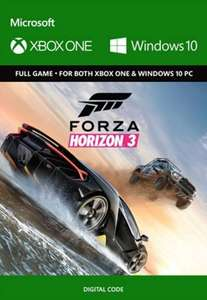Forza Horizon 3 PC & Xbox One (Cross-Play) Digital Download - £29.99 @ Currys