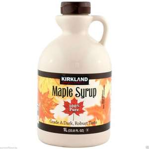 1 Litre Maple Syrup £8.99 @ Costco