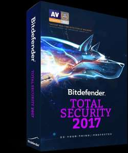 Bitdefender Total Security 2017 - £14.99