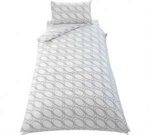 Simple Value Circles Bedding Set Single £3.99/ Double £4.99 [Further Reduced] Argos (Free C&C)
