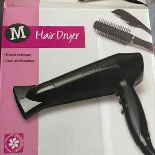 Morrisons 2200w hairdryer instore (Newark) - £6.00