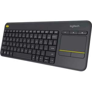 Logitech K400 Plus Wireless Keyboard & Trackpad £21 - delivered @ ao.com