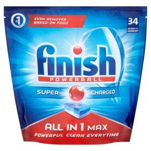 Finish Powerball All in One Max 34's  £2.99 at B&M