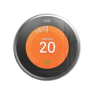 3rd Gen NEST SMART THERMOSTAT & HOT WATER CONTROL PLUS FREE 3rd Gen Stand!