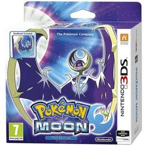 Pokémon Moon/Sun (Fan Edition with Steelbook) 3DS £32.95 @ The Game Collection (TGC)
