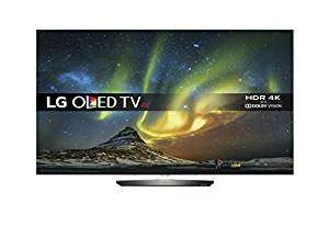 Amazon: LG OLED55B6V + 12 months Sky Q with LG OLED 4k TV + LG SH7 4.1 Channel 360 W Smart Sound Soundbar, Wireless with Metallic Design (Silver) - £1749