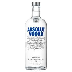 Absolut vodka 1L bottle £20 at Asda in-store and online