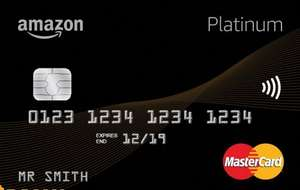 Amazon Platinum MasterCard® - £10 Amazon.co.uk Gift Card for new cardholders