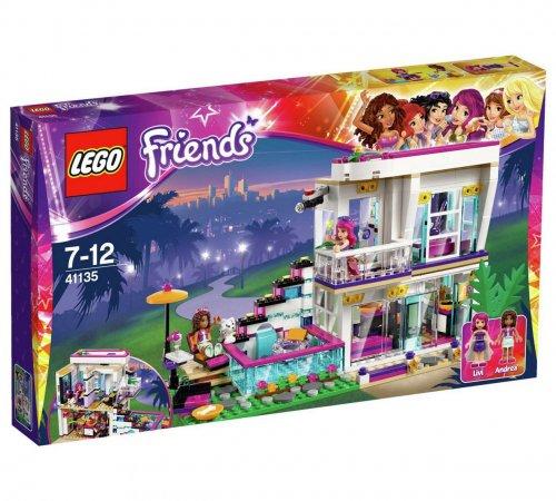 LEGO 41135 Friends Livi's Pop Star House Playset £36.99 Argos