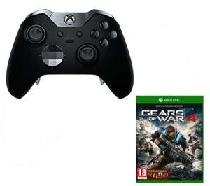 Xbox Elite Wireless Controller & Gears of War 4 Bundle £99.99 Delivered @ Currys & PC World
