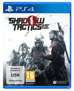 Shadow Tactics PS4/Xbox One now up for Preorder £39.99 - Amazon