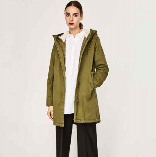 Parka Jacket @ Zara £15.99!!!