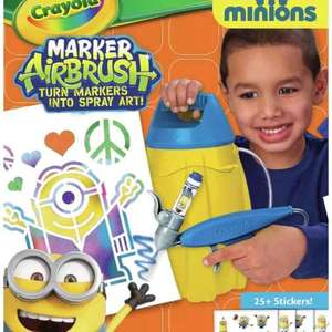 crayola minions airbrush kit. £5.99 delivered Argos ebay rrp 24.99