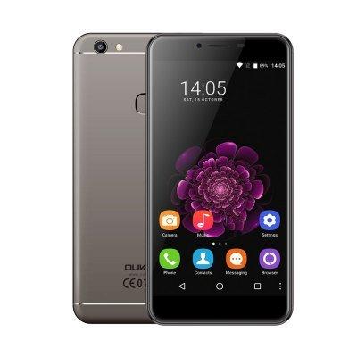OUKITEL U13 4G Phablet  -  GRAY MTK6753 Octa Core 3GB RAM 64GB ROM £104.21 @ Gearbest