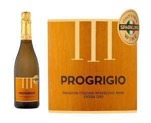 "Like Prosecco? Like Pinot Grigio? well at Asda you can now buy ""Progrigio"" a Premium Italian Sparkling Wine for a fiver! - £5 @ Asda"