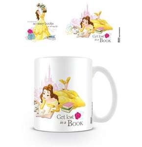 Beauty & The Beast Mugs just £4 each @ The Works
