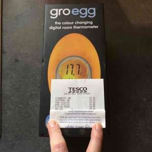 Groegg marked as £10 on shelf (reduced from £20) scanning at £5 Tesco vale Exeter