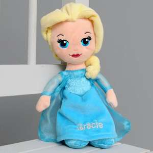 Personalised Disney Frozen Elsa Doll - £4.99 / £8.98 standard delivery @ IJustLoveIt
