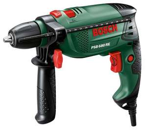 Bosch PSB 680 RE hammer drill & Bosch X-line 34 piece drills and bits set £35 at B&Q Only 4 days