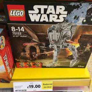 Lego Star Wars 75153 AT-ST Walker - £19 Tesco Norwich