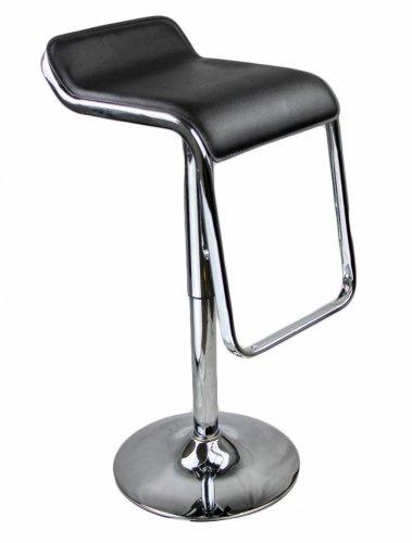 2 x Chrome Kitchen Bar Stool Barstools PU Swivel Stools £32.99 @ uhsonline / ebay