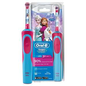 Oral-B Stages Kids Electric Toothbrush featuring Frozen @ Tesco Stockport £8.75
