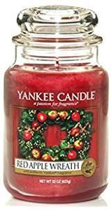 "Yankee Candle Company large jar ""Red Apple Wreath"" - £12 @ very.co.uk - free delivery with collect+"