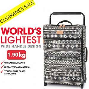 "IT Luggage 24.5"" 2 Wheel Worlds Lightest £24.99 @ Bags Etc"
