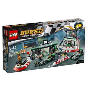 LEGO Speed Champions Mercedes AMG Petronas Formula One Team 75883 £28.95 @ Hair Skin Beauty / Ebay