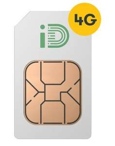 SIM only deal - iD (Operated By 3) £5 per Month - 1.5GB Data. 250mins. 5000texts.