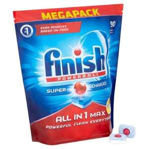 Finish all in 1 max lemon 90 pack - Amazon for £11.49 Prime / £16.24 Non Prime