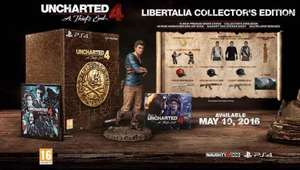 Uncharted 4: A Thief's End - Libertalia Collector's Edition (PS4) £44.99 using code @ GAME
