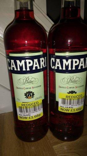 Campari 70cl £1.66 instore @ Tesco express Alkrington Middleton Manchester