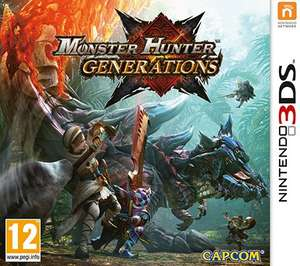Monster Hunter Generations 3DS £26.79 Nintendo EShop