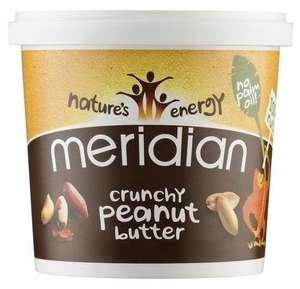 Meridian Crunchy Peanut Butter 1kg - £3.99 - Free Standard Delivery @ Dolphin Fitness