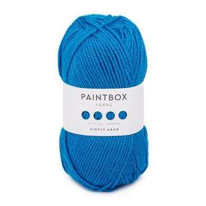 30 X 100g Balls of Paintbox Aran Yarn / Wool (60 Colours to choose from) for £32.55 including Free Delivery using code PB30 which gives 30% off @ Loveknitting.com NOTE: code is valid until midnight tonight unless it's extended.