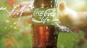 Coke Life 500ml Bottles - 10p @ Poundstretcher