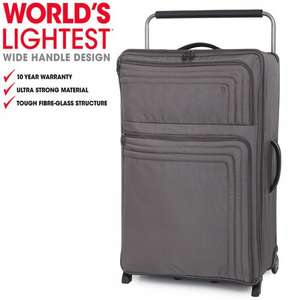 """IT Luggage Extra Large 82.5cm/30"""" 2 Wheel £30.94 using code EXTRA10 to Bags ETC Limited."""
