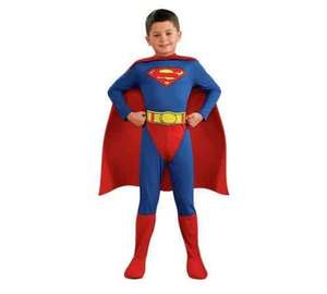Book Week half price Superman Fancy Dress  £12.49 at Argos (discount shows at checkout)