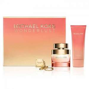 Michael Kors Wonderlust Eau De Parfum 50ml Gift Set £35 with free delivery using code & adding £2 item (follow instructions below) @ The Fragrance Shop