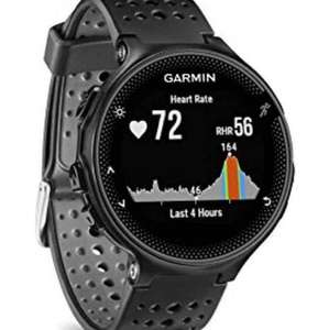 Garmin Forerunner 235 GPS Running Watch with Elevate Wrist Heart Rate and Smart Notifications - Black/Grey £224.33 Amazon