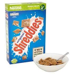 Nestle Shreddies (500g) was £2.44 now £1.00 (Rollback Deal) @ Asda Online/Instore.