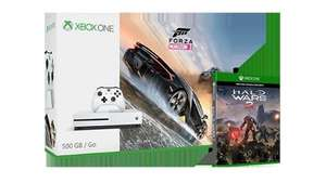 Xbox One S 500GB With Halo Wars 2 and Forza Horizon 3  £229.99 @ Microsoft store (Possible £15.75 Save With Quidco)