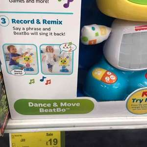 Dance and Move Beatbo £19 in Asda Hayes