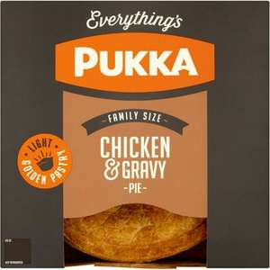 Pukka Pies Chicken & Gravy Pie (550g) was £3.25 now £2.00 (Rollback Deal) @ Asda