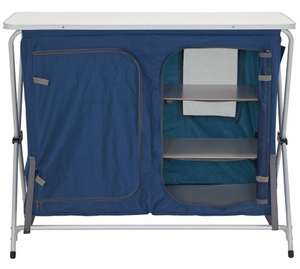 Trespass Camping Storage Unit with Shelves - Large - Was £59.99 Now £26.99 @ Argos (Free C&C)