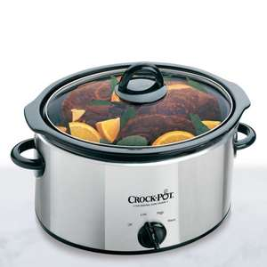 CrockPot Slow Cooker SCV400PSS £16.99 instore @ Watt Bros