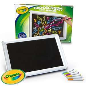 Crayola Widescreen Light Designer £19.99 Home bargains