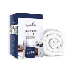 Snuggledown 15 tog 'Hotel' luxury hollowfibre all season duvet (4.5 + 10.5 tog ) £42 @ Debenhams